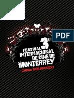 3 Festival Internacional de Cine de Monterrey - FIC Monterrey - 2007