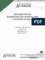 Diplomatura en administración hospitalaria