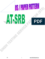 Proposed Content Weightages ATSRB STS 2019