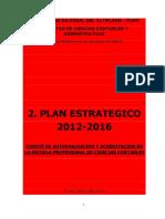 2 Plan Estratégico FCCA 2012 - 2016