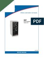 MBP Driver Manual