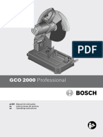 Manual do Policorte Bosch