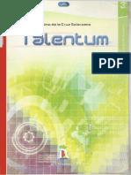 TALENTUM - MATEMATICAS - Tercer Año de Secundaria - Maximo de La Cruz Solórzano