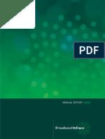 Broadband Infraco Annual Report 2009