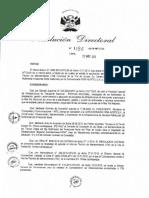 Resolución Directoral 1186 2015 MTC 20
