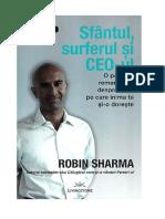 Robin Sharma - Sfantul Surferul Si CEO-ul (f.s.1.0)