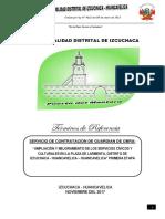 TÉRMINOS DE REFERENCIA GUARDIÁN DE OBRA