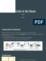 electricity in the home topic 7