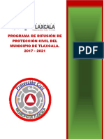 Programa de Difusion de Proteccion Civil 2017 2021