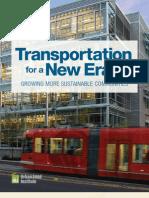 Transportation for a New Era