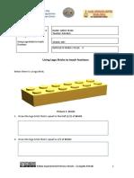 3. Using Lego Bricks to teach Fractions