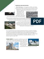 Arquitectos deconstructivistas