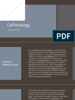 cell analogy