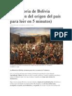 La Historia de Bolivia