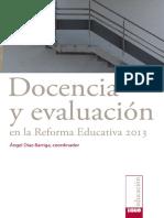 Docencia y Evaluación en la Reforma Educativa  Ccesa007