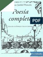 Poesía Completa.Enrique Jardiel Poncela
