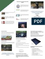 Triptico La Explotación Petrolera y Su Impacto Ambiental