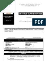 Guia Programatica Metodos Cuantitativos i .2018
