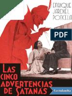 Las cinco advertencias de satanas - Enrique Jardiel Poncela.pdf