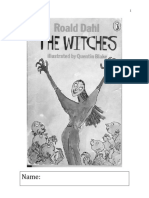 final version the witches modified activity booklet