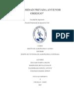 Informe Final Diseño de Albañileria Edif 3pisos