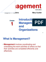Chp 1 Introduction to Managment