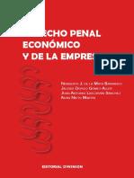 BOOK, NIETO, Adan. Derecho Penal Economico 2018