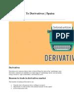 5paisa Derivatives