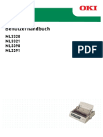OKI Benutzerhandbuch ML3320, ML3321, ML2290, ML3391