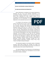 Bucao Watershed Characterization DENR 2011