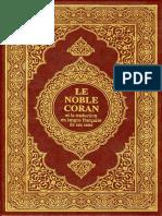 Fr Noble Coran Et La Traduction en Langue Francaise