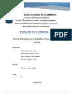 Manejo de Cuencas JOSE GALVEZ
