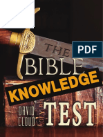 Bible Knowledge Test
