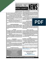 Democratic Party Fresno County News Feb 2019