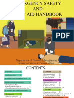 Emergency Safety and First Aid Hand Book_English