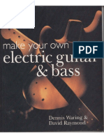 Luthier Make Your Own Electric Guitar & Bass