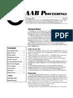 AAB Proceedings - Issue #20