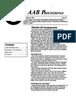 AAB Proceedings - Issue #32