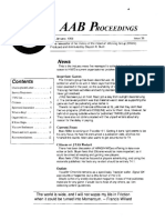AAB Proceedings - Issue #35