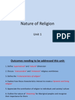nature of religion introduction