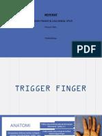 Trigger Finger - Heel Spur
