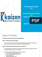 Marketing Paper Assortment Solution