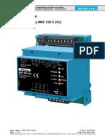 Ziehl PTC-resistor relay MSF  220 V (VU) .pdf