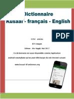 Dictionnaire Kusaal a-z