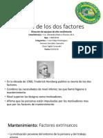 Teoria de Los Dos Factores [Autosaved]