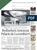 Rediseñará Amezcua Palacio de Lecumberri