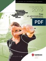 Catalogue GERESO 2019 Paie