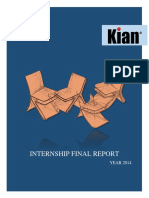 KIAN Internship Final Report