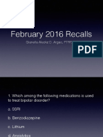 Recalls Feb 2016