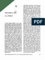 POLLARD_The Tyranny of Richard III
